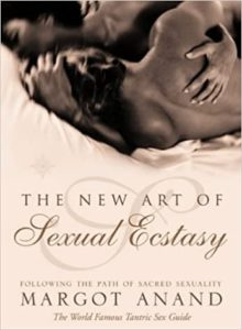 Cover art of the book The New Art of Sexual Ecstasy showing a sensual photo of a woman's naked back